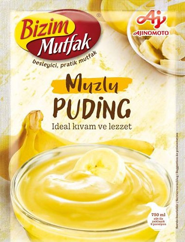 Bizim Mutfak Pudding Banana|115 g|بودينغ الموز