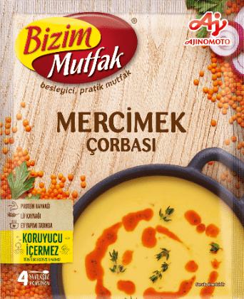Bizim Mutfak Soup Lentil 65 g شوربة العدس