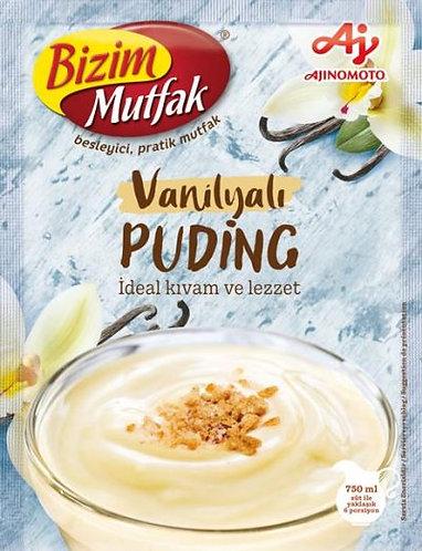 Bizim Mutfak Pudding Vanilla|125 g|بودينغ الفانيليا