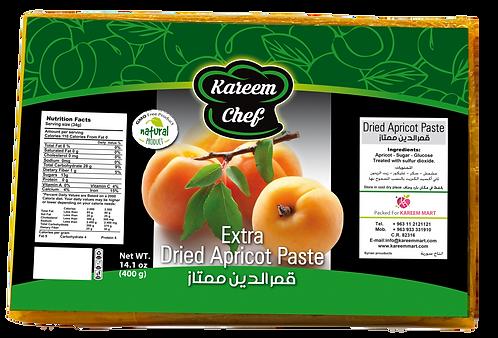 KareemChef Dried Apricot Paste (Packet) 400 g قمر الدين (باكيت)