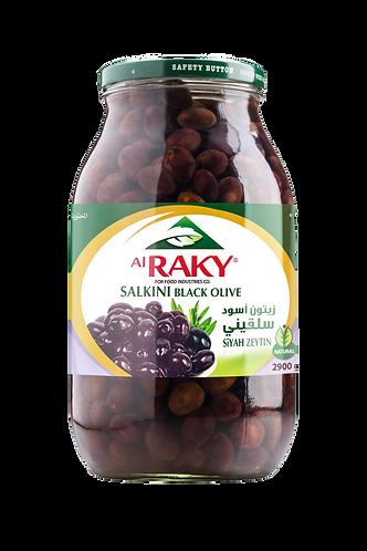 Al Raky Salkini Black Olive |2900 g|زيتون اسود سلقيني أول