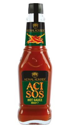 Kemal Kukrer Hot Sauce  60 ml صلصة الحار\عبوة زجاج