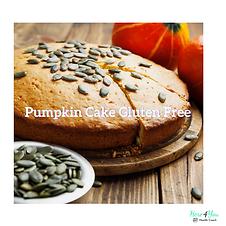 Pumpkin Bread with Raw Fiber Gluten Free