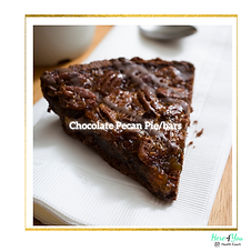 Chocolate Pecan Pie or Bars