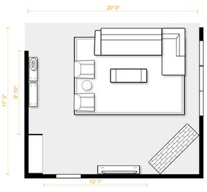 Hudson interior design space spanning
