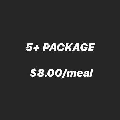 5+ MEALS
