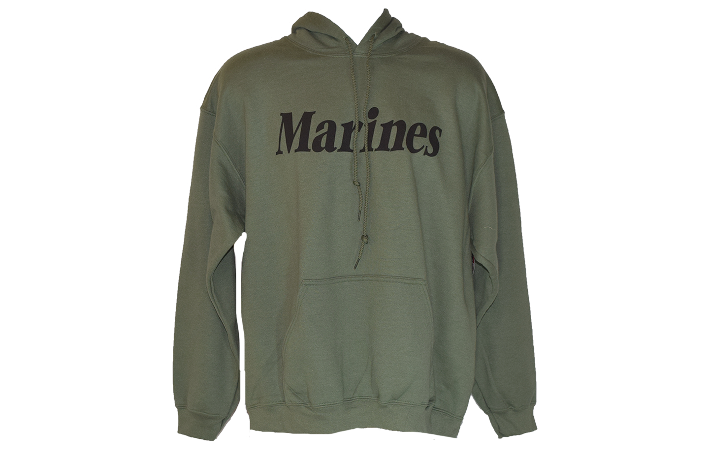 Marines Text Green Sweater