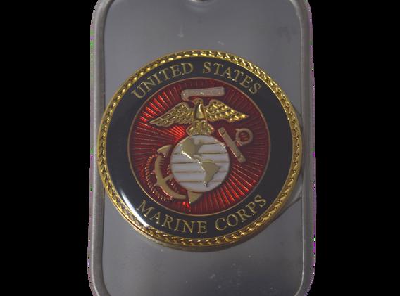 USMC Logo Dogtag