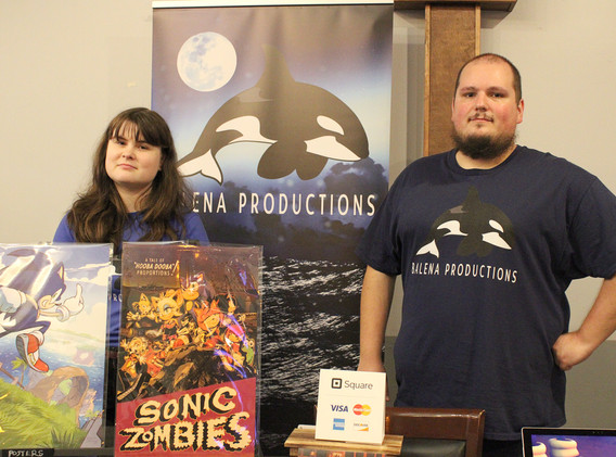 Balena Productions Booth
