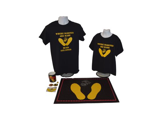 Yellow Footprints Merch Set