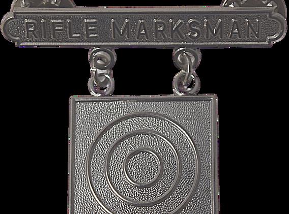 Rifle Marksman Pin