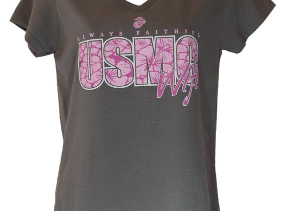 Always Faithful USMC Wife T Shirt