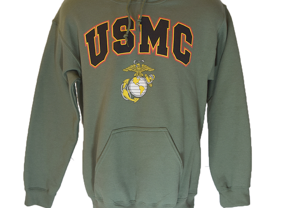 Green USMC Sweater