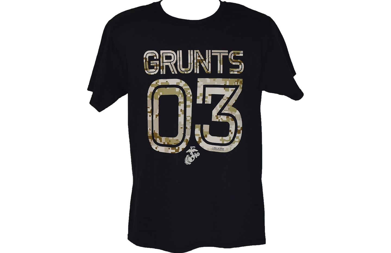 Grunts 03 Black T Shirt
