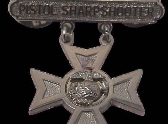 Pistol Sharpshooter Pin