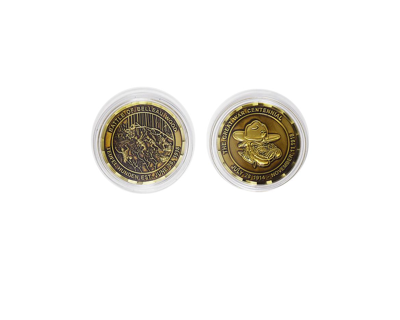 World War I Teufel Hunden Centennial Coin