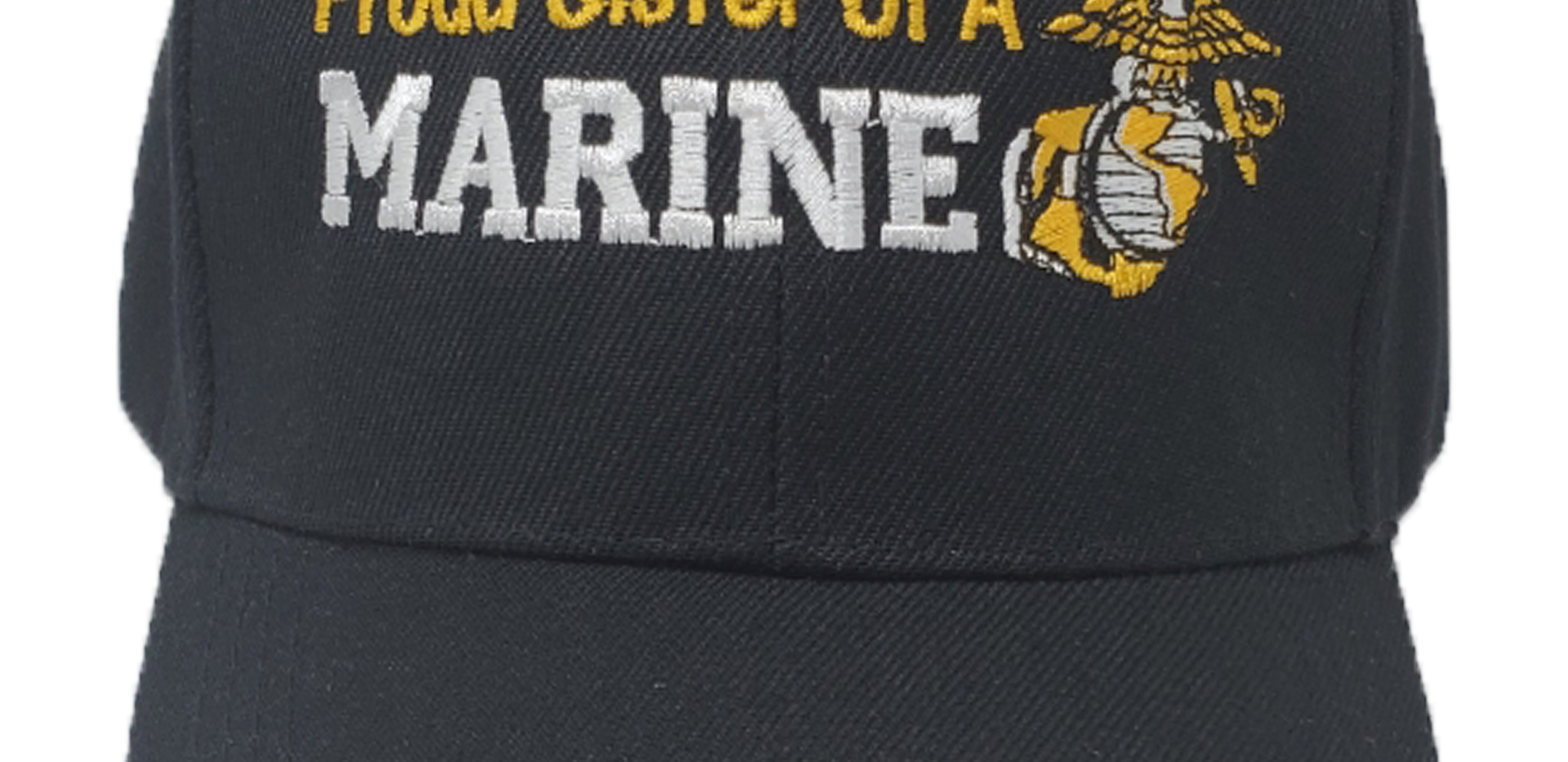 Proud Sister of a Marine Black Hat