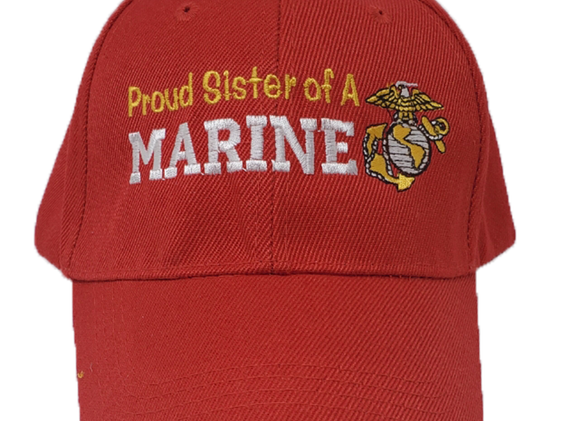 Proud Sister of a Marine Red Hat