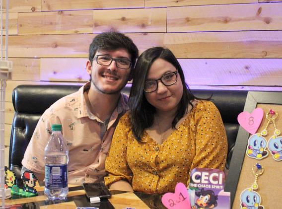 Ceci and her Boyfriend