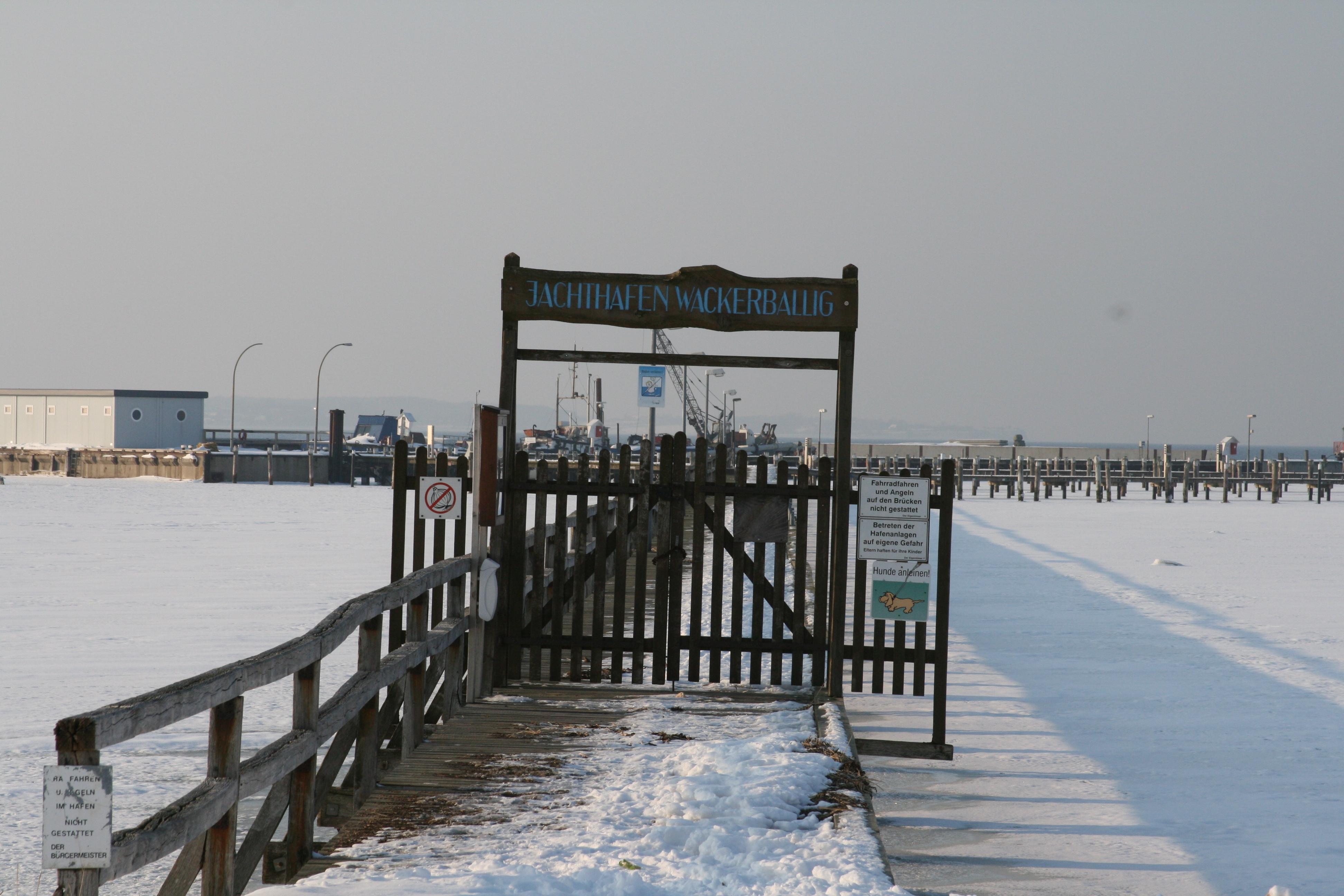 Seebrücke Wackerballig
