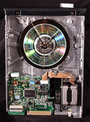 Floppy Drive Clock