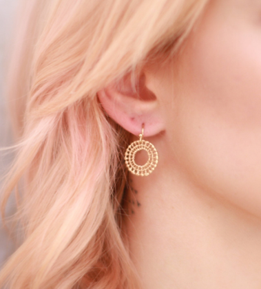 Small Spoke Earrings