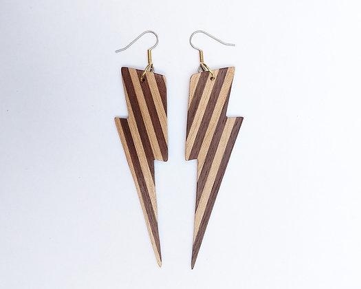 Lightning Stripe Earrings