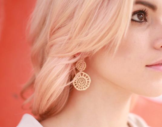 Double Filigree Circle Earrings