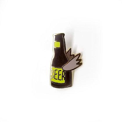 Beer Flight Hard Enamel Pin