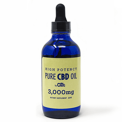 Highest Potency CBD oil by Chiki