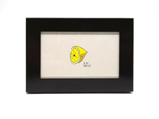 Tiny Framed Lemon