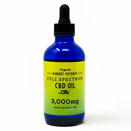 3000mg Full Spectrum CBD oil