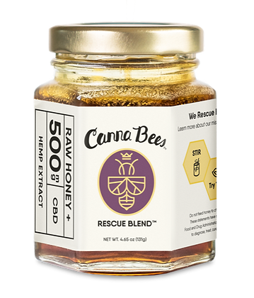 Canna Bees CBD Honey 500mg Jar