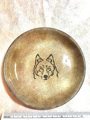 Wolf Head Bowl