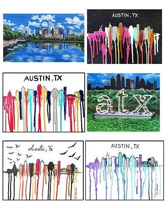 Austin TX Greeting Cards