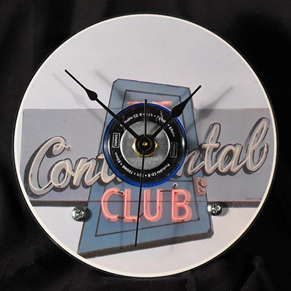 Austin Scenes - Continental Club Clock
