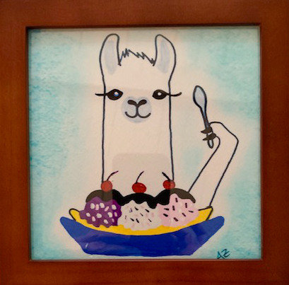 Sundae Llama