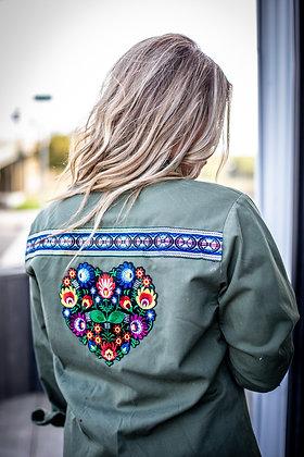 Frida Heart Military Jacket