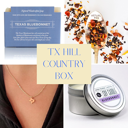 Texas Hill Country Box