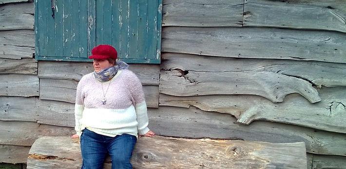 Amanda on a log (2).jpg