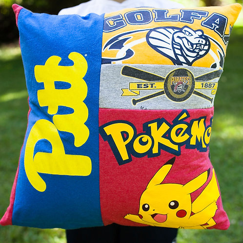 Custom T-Shirt Memory Pillow
