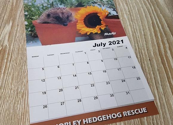 2021 Hedgehog Calendar