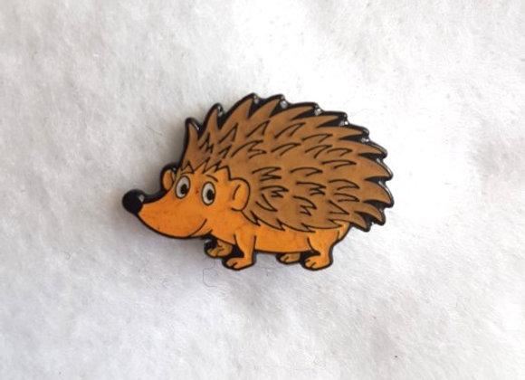 Hedgehog Pin Badge (spikey)