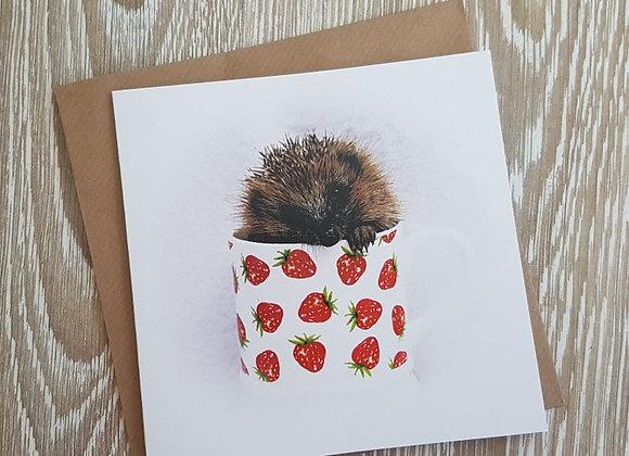 Hedgehog Card (Gracie)