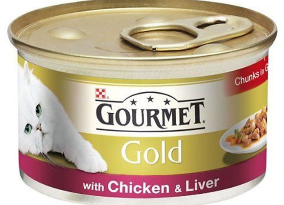 Gourmet Gold Chicken & Liver x 12