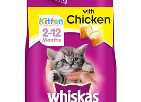 Whiskas Kitten Dry Food Chicken 2kg
