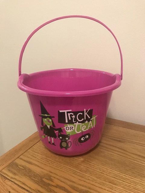 Halloween Plastic Bucket