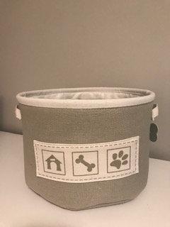 Gray Gift Basket