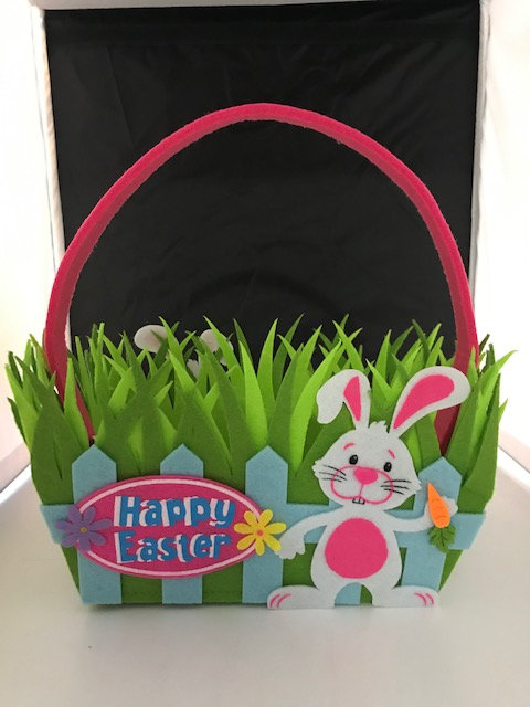 Happy Easter Grass Basket