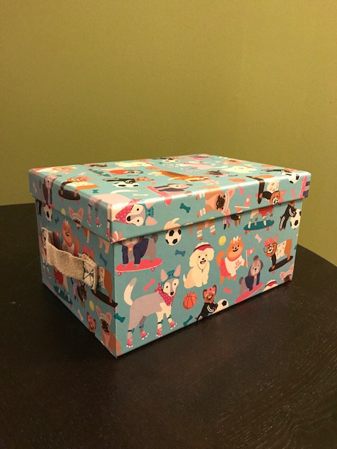 Blue Gift Box (with 6 items)